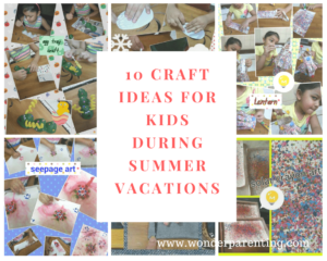 10 Craft Ideas for Kids during Summer Vacations-wonderparenting