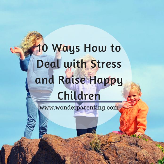 how to raise happy children
