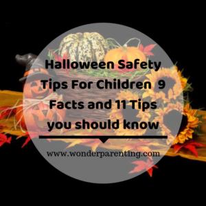 Halloween Safety Tips For Children -wonderparenting