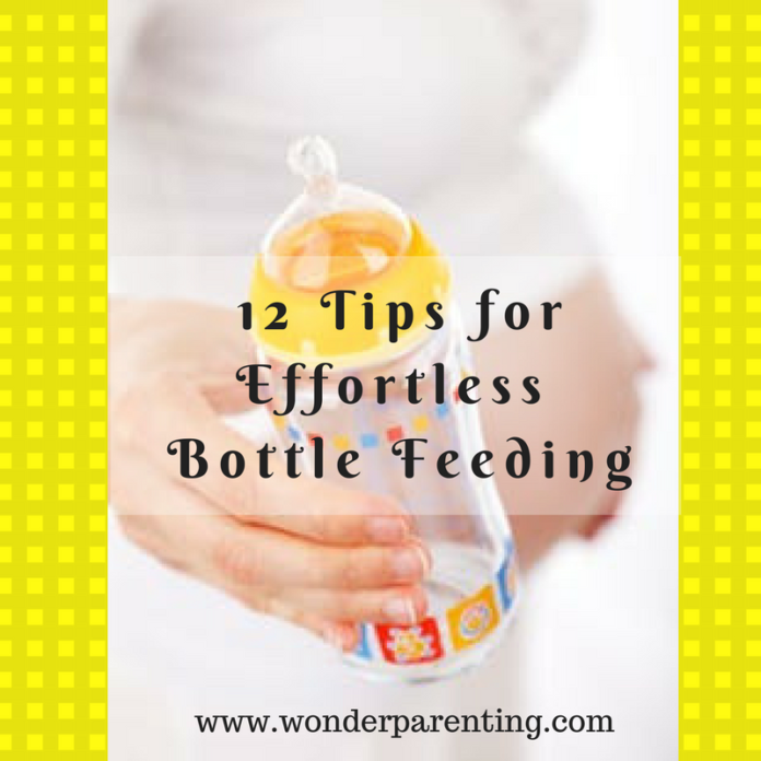 Easy Bottle Feeding Tips | 12 Tips for New Parents