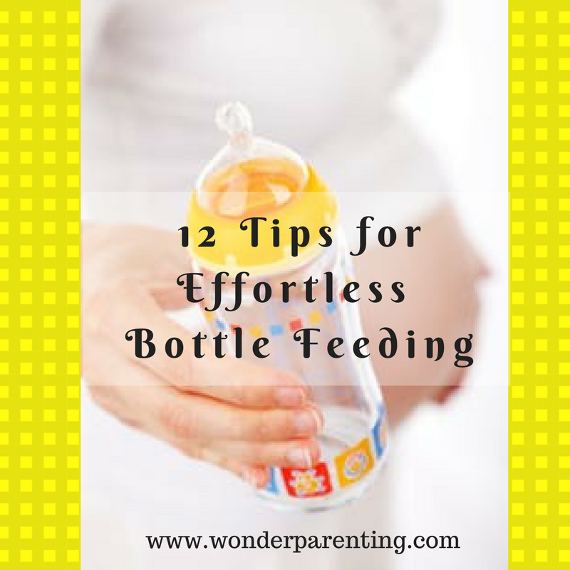 Easy Bottle Feeding Tips | 12 Tips for New Parents