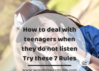 How to deal with teenagers when they do not listen Try these 7 Rules