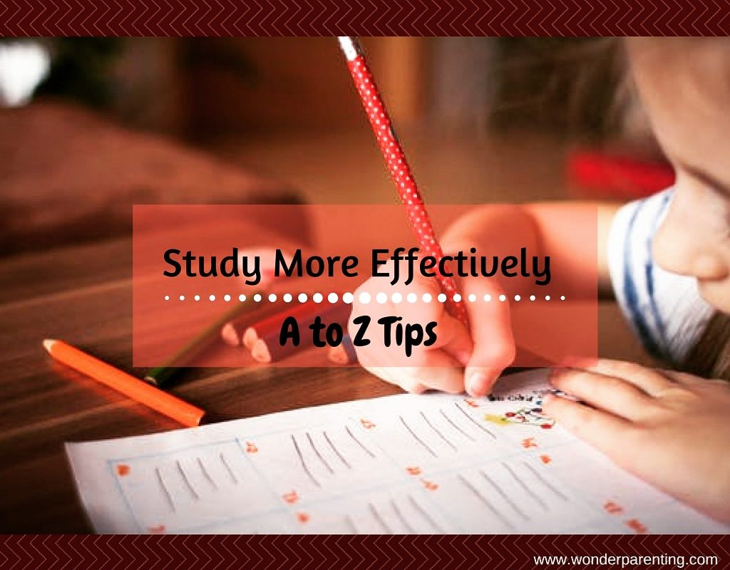 study more effectively-wonderparenting