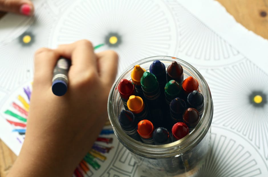 coloring best solution for stress-wonderparenting