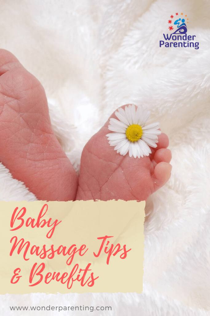 baby massage tips & benefits-wonderparenting