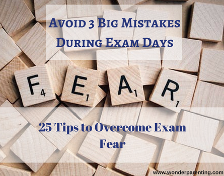 Exam Fear-wonderparenting