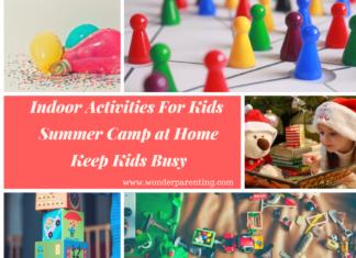 summer indoor activities for kids
