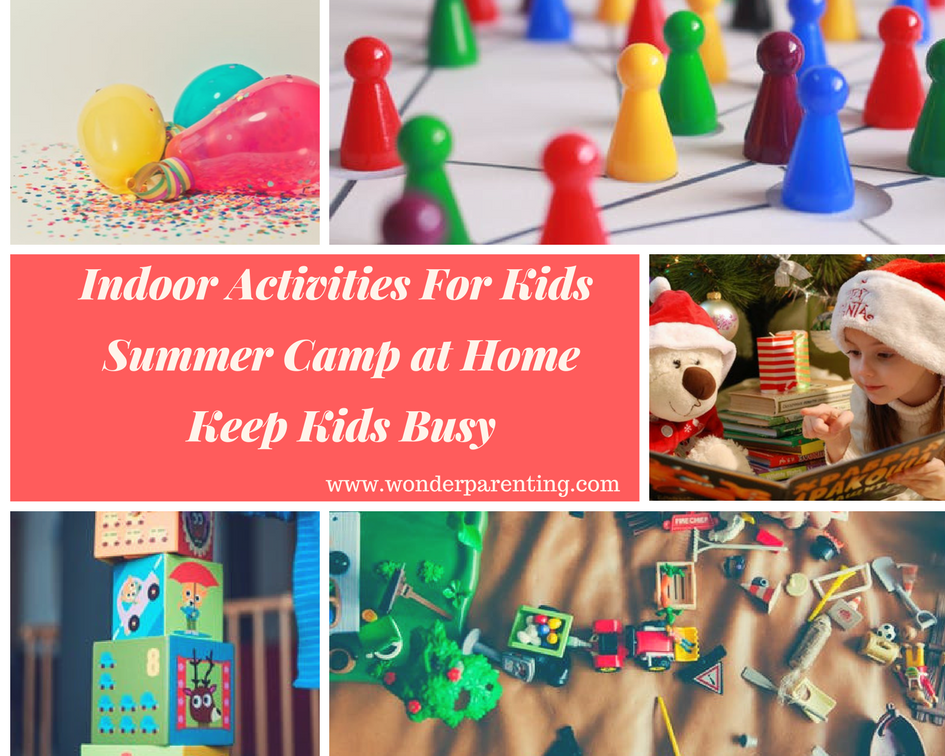 summer indoor activities for kids-wonderparenting