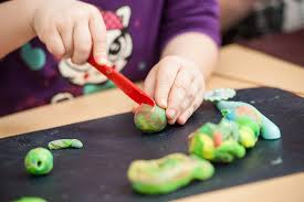 clay modelling indoor activities for kids