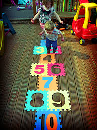 indoor hopscotch mats