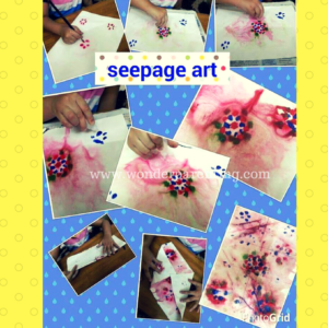 seepage art craft ideas for kids