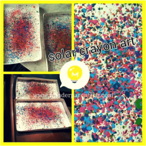 solar crayon art