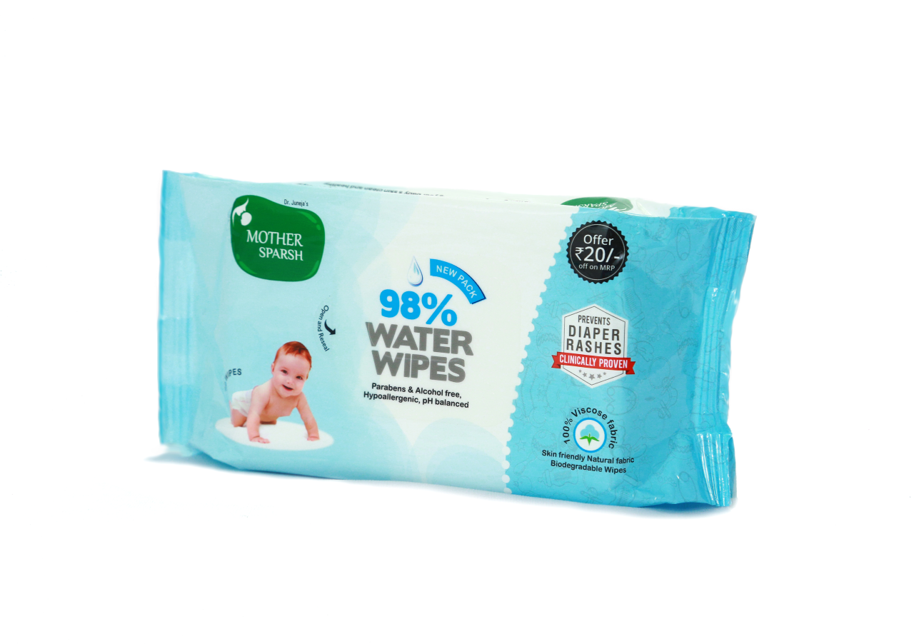 Mother Sparsh introduced first 98% water based wipes in India-wonderparenting
