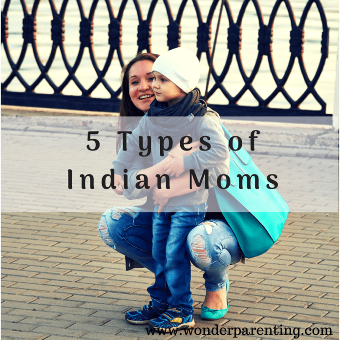 types of Indian moms