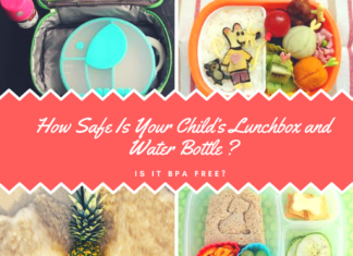 BPA free lunchbox and water bottle