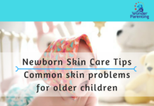 Newborn skin care tips _ Common skin problems for older children