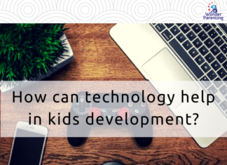 How can technology help in kids development