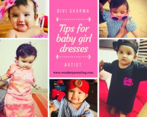 Divi Sharma Tips for baby girl dresses