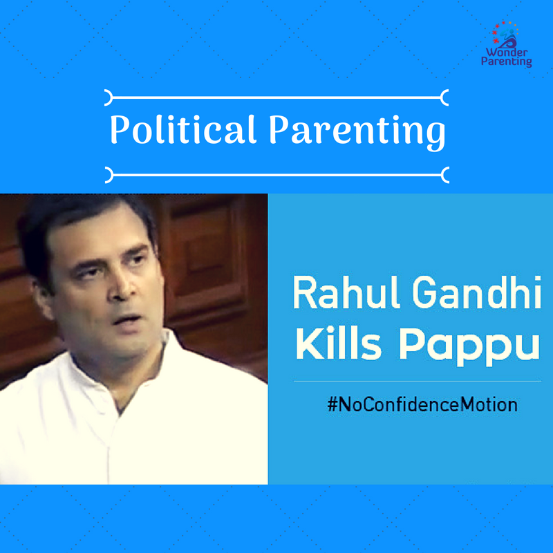 Political Parenting No Confidence Motion