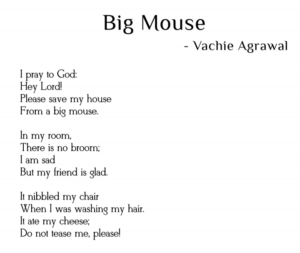 poem on big mouse