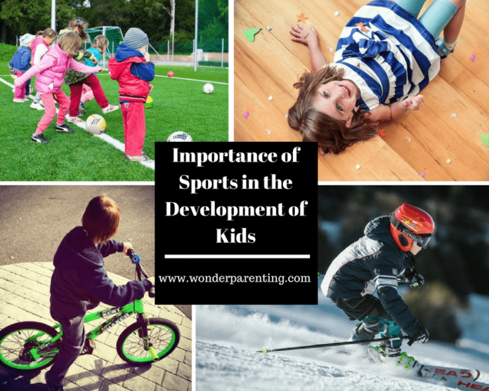 Importance of Sports in the development of kids