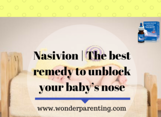 Nasivion _ The best remedy to unblock your baby's nose