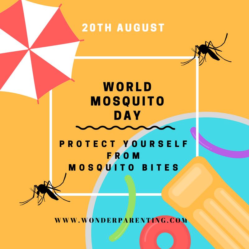 world mosquito day-wonderparenting