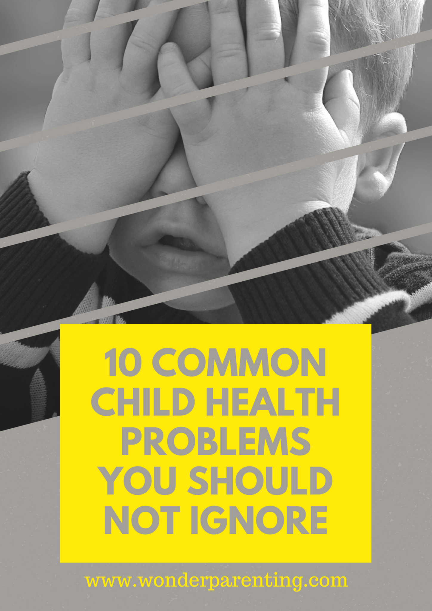10 COMMON CHILD HEALTH PROBLEMS YOU SHOULD NOT IGNORE-wonderparenting