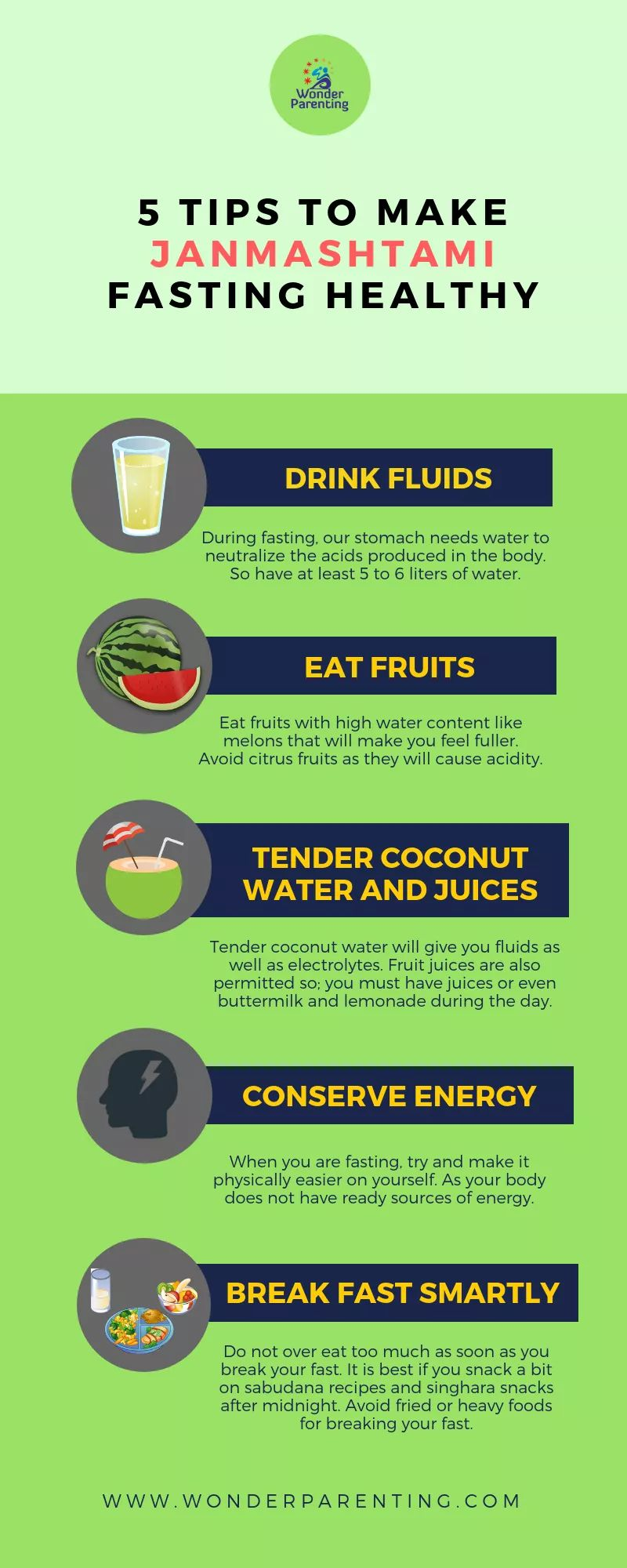 Tips for healthy fasting-wonderparenting