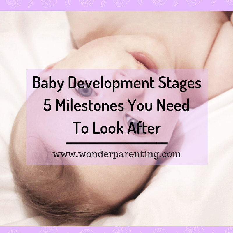 Baby Development Stages _ 5 Milestones you need to look after-wonderparenting