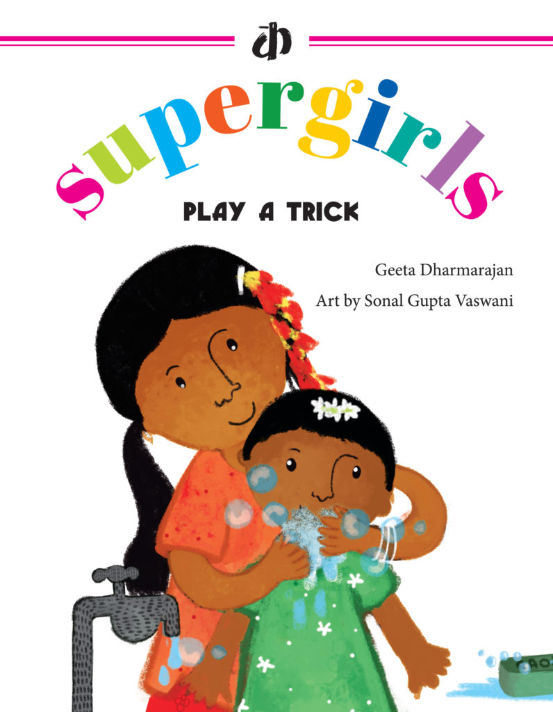 Book 1-Play A Trick Super Girls Short Story Books-wonderparenting