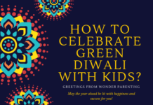 How to celebrate Green Diwali with kids