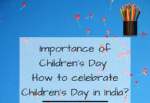 Importance of Children's Day _ How to celebrate Children's Day in India_