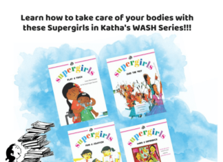 Super Girls Short Story by Katha _ WASH Series _ (SHE)2 Project