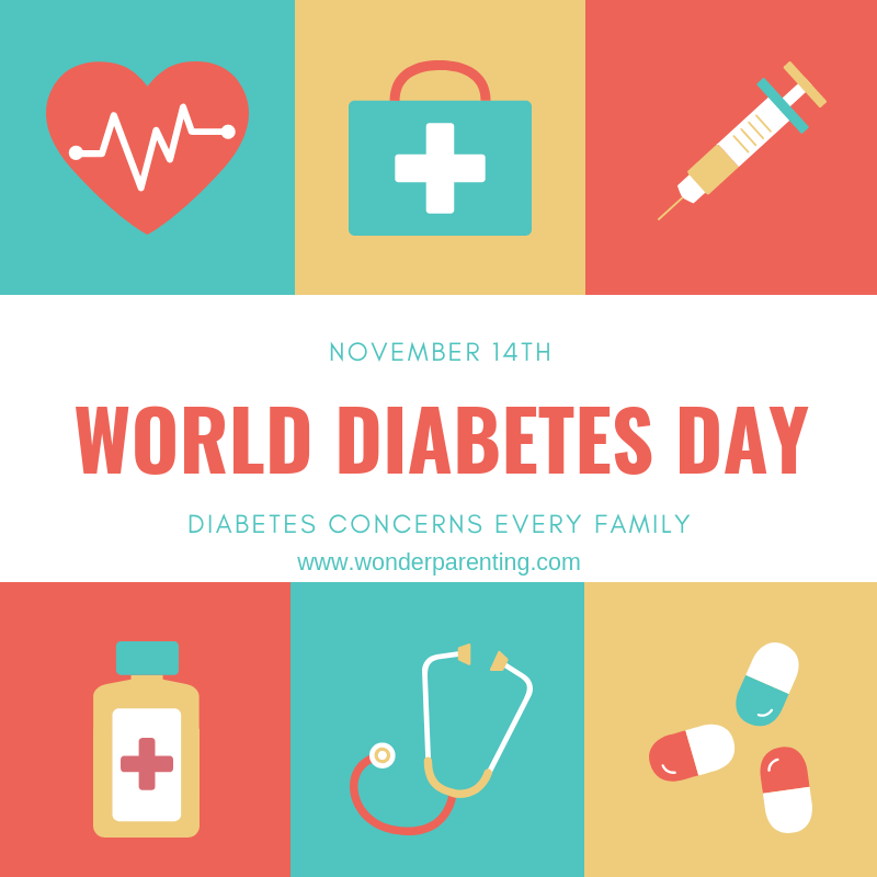 diabetes prevention on world diabetes day-wonderparenting