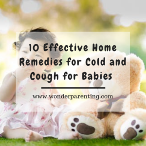 home remedies for cold and coug-wonder parenting