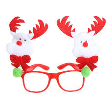 Christmas Antlers Glasses Frame