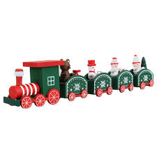 Christmas Mini Wood Train