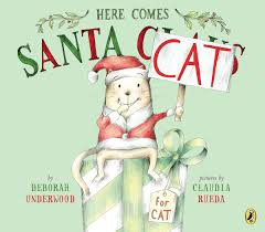 Here Comes Santa Cat book