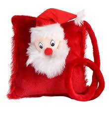 Red Santa Claus sling purse bag by Tickles