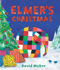 festive story by David McKee Elmer's Christmas