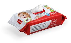Luvlap Paraben-Free Baby Wet Wipes with Aloe Vera