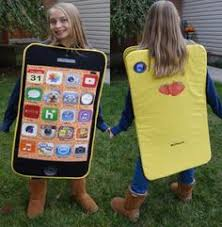 mobile phone fancy dress ideas-wonderparenting
