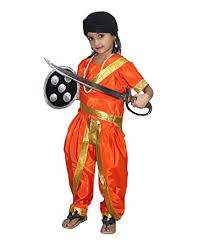 rani lakshmi bai fancy dress ideas-wonderparenting