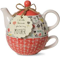 Bloom Mother Ceramic Tea for One, 15 oz-wonderparenting
