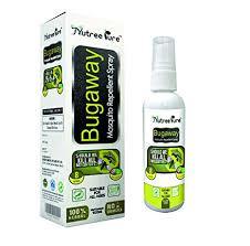 Nutree Pure Bugaway Herbal Mosquito Repellent (100 ml)-wonderparenting