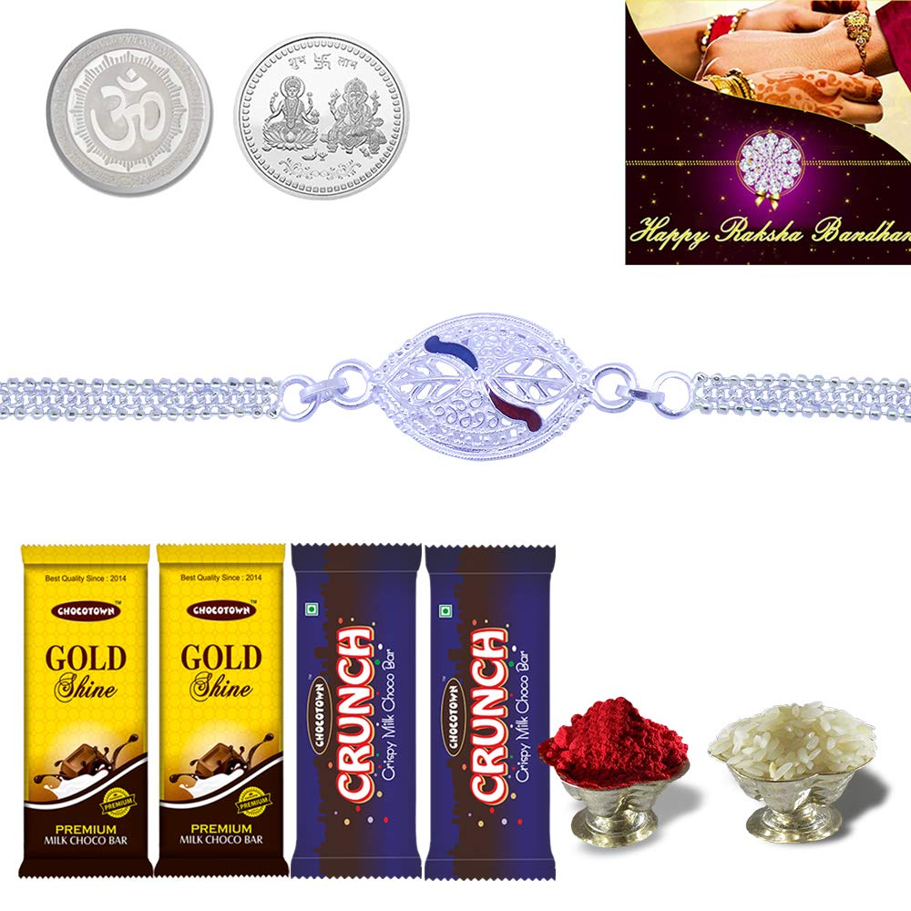 coin-silver-Rakhi-gifts-for-brothers-sisters-wonderparenting